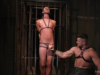 Dirty males share their gay experience in the hottest BDSM